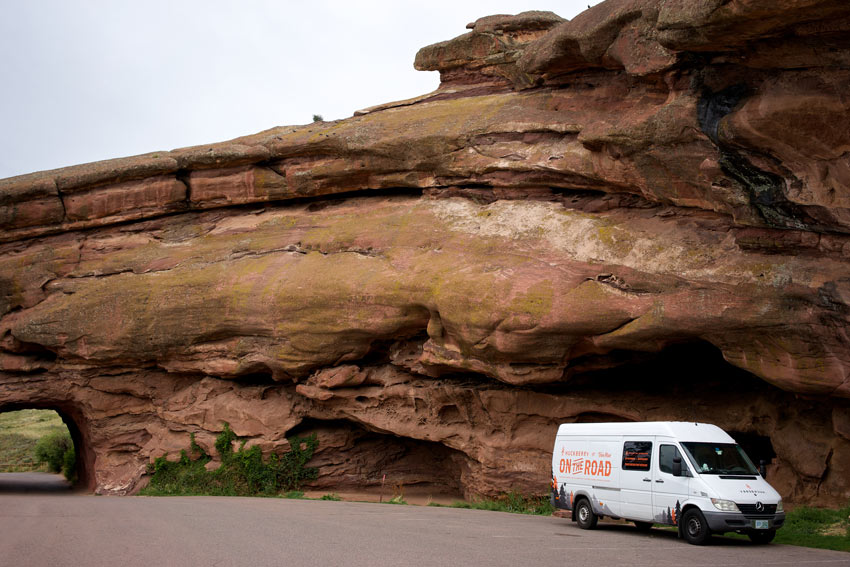 The Van Man photo by Jon Gaffney