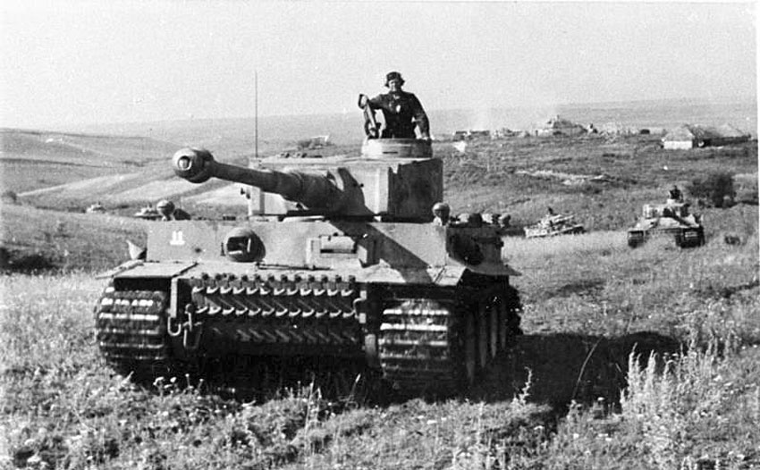 Tiger Tank Company Das Reich