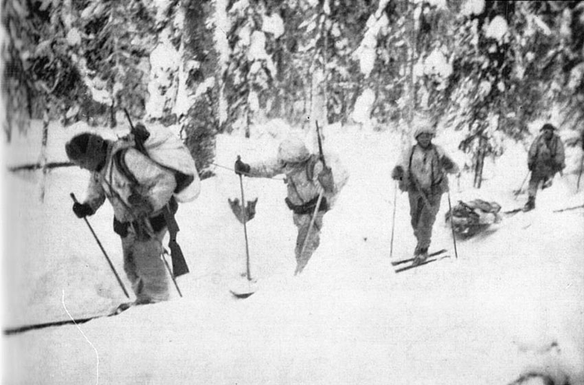Finnish Ski Infantry