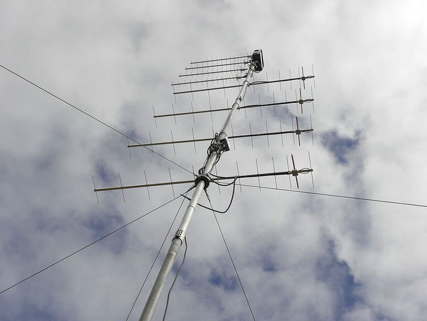 UHF Antennas Stacking for Ham Radio Bands