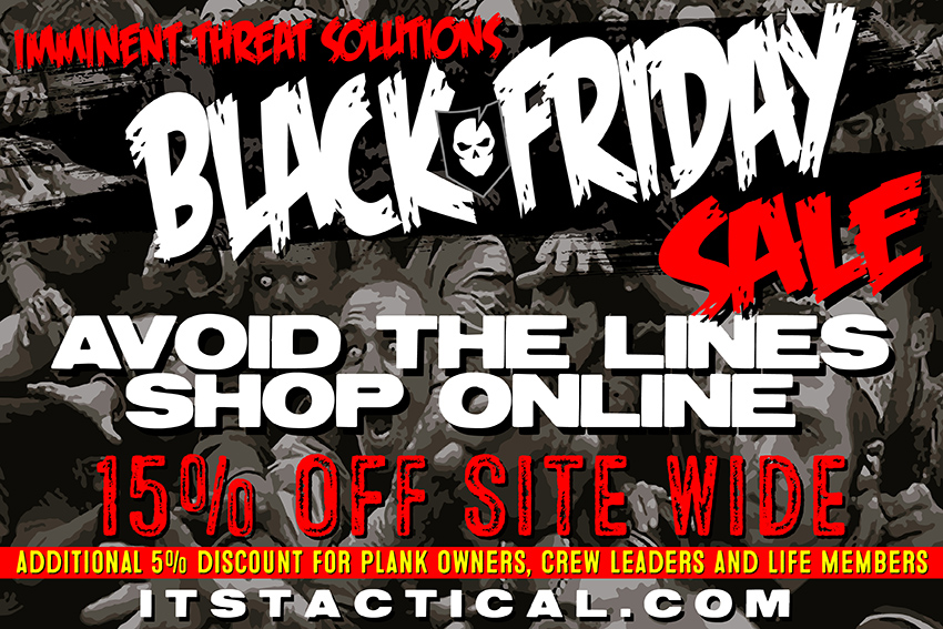 2014 ITS Tactical Black Friday Sale