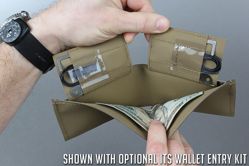 Its Hypalon Concealment Wallet Discreetly Carry Entry And