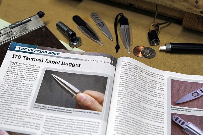 ITS SWAT Magazine Lapel Daggers