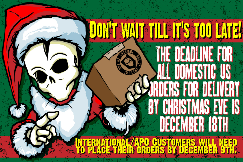 ITS Santa Shipping Deadlines