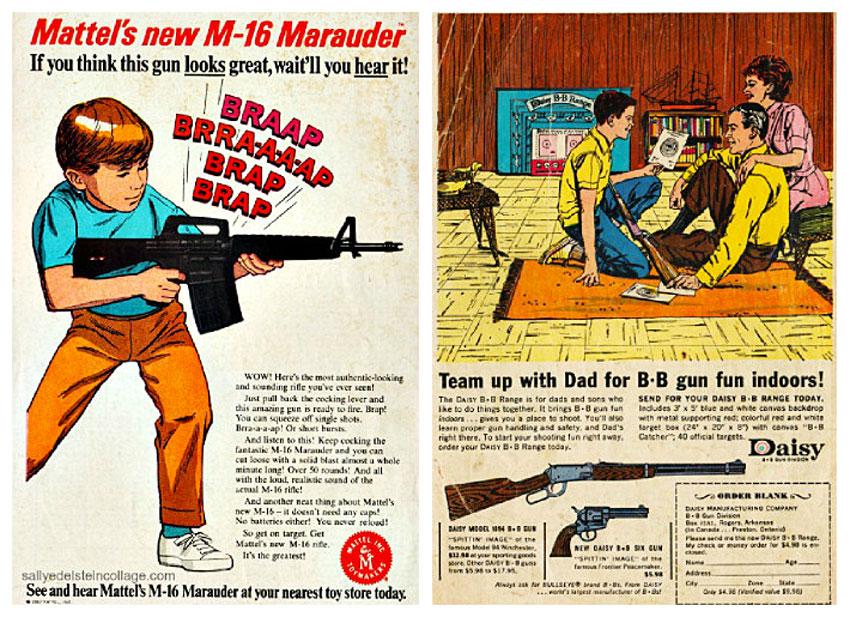 Vintage Toy Gun Ad