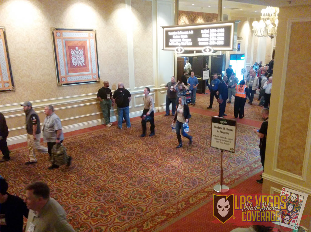 SHOT Show 2015 - Day 1 Live Coverage 01