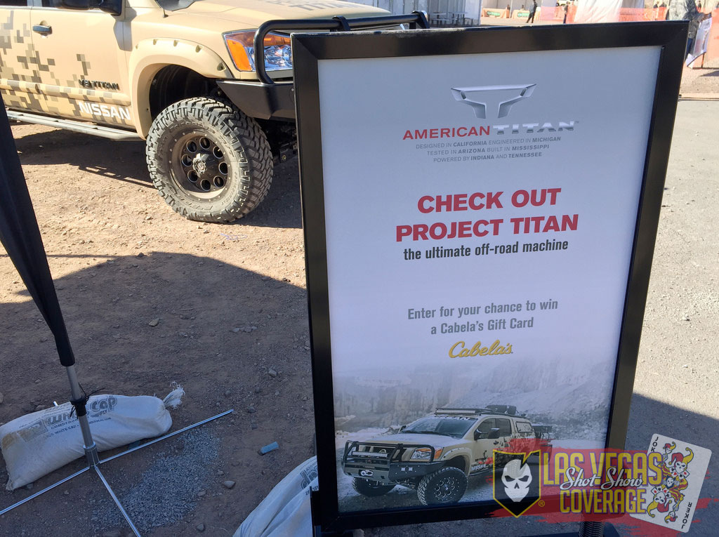 SHOT Show 2015 - Media Day at the Range