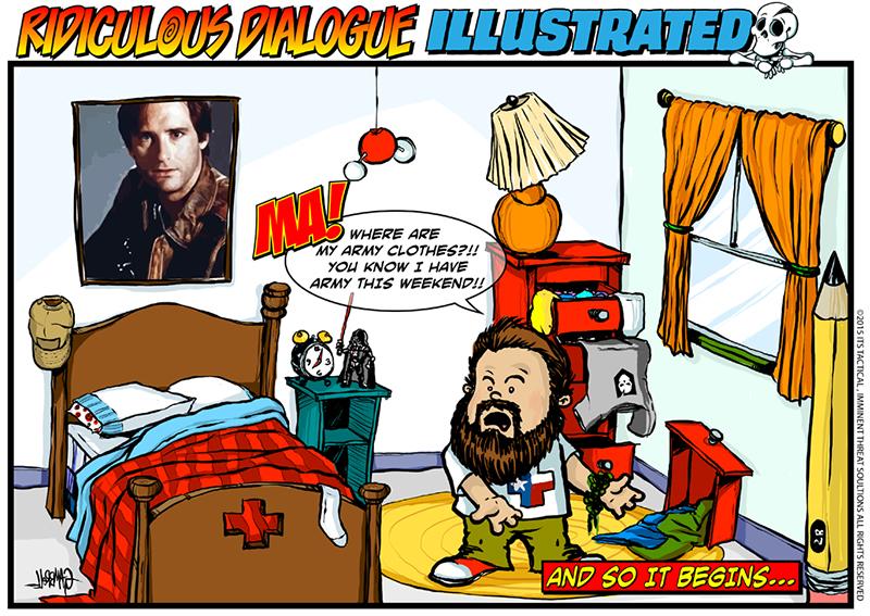 Ridiculous Dialogue Illustrated Comic 001