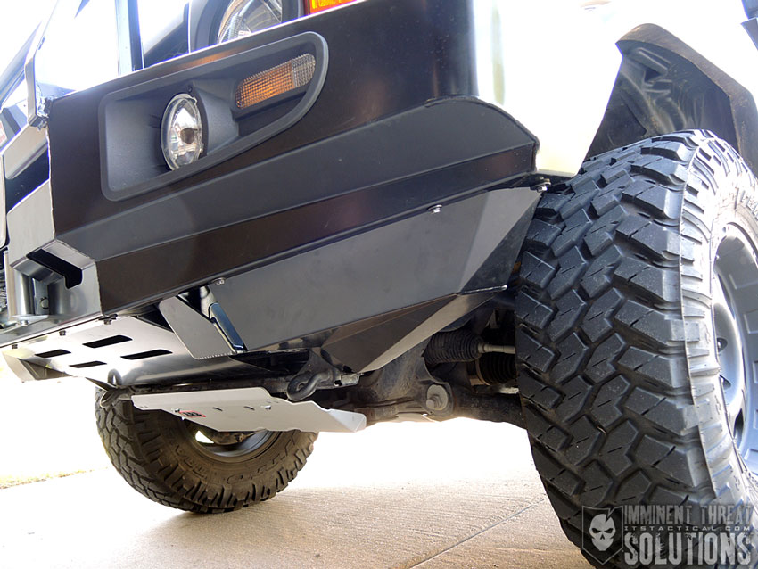 ARB FJ Cruiser Front Bumper Installation
