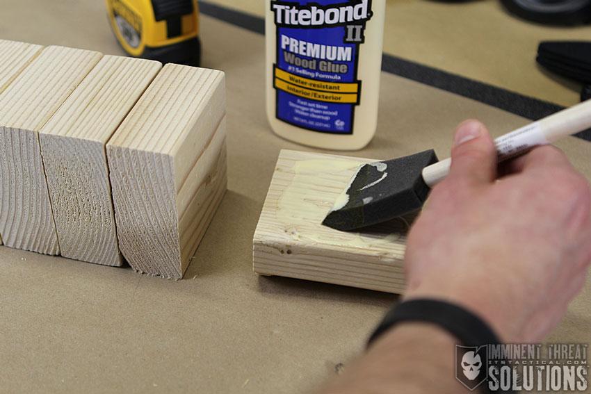 DIY Knife Throwing Target 06