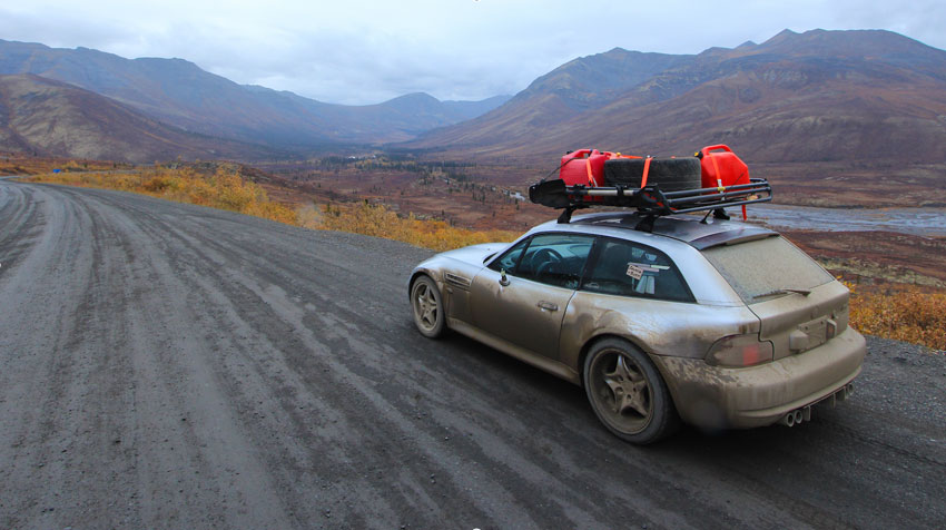 Expedition Portal BMW M Coupe Overlanding