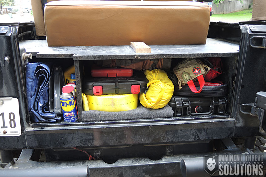 Building a Vehicle Locker