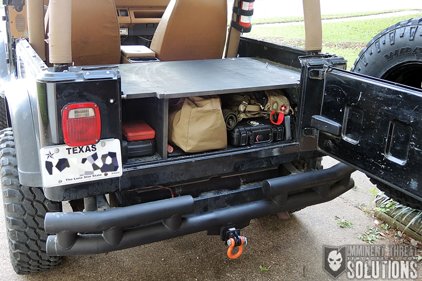 securing your valuables build a diy vehicle lock box on a budget Jeep Storage Box Plans