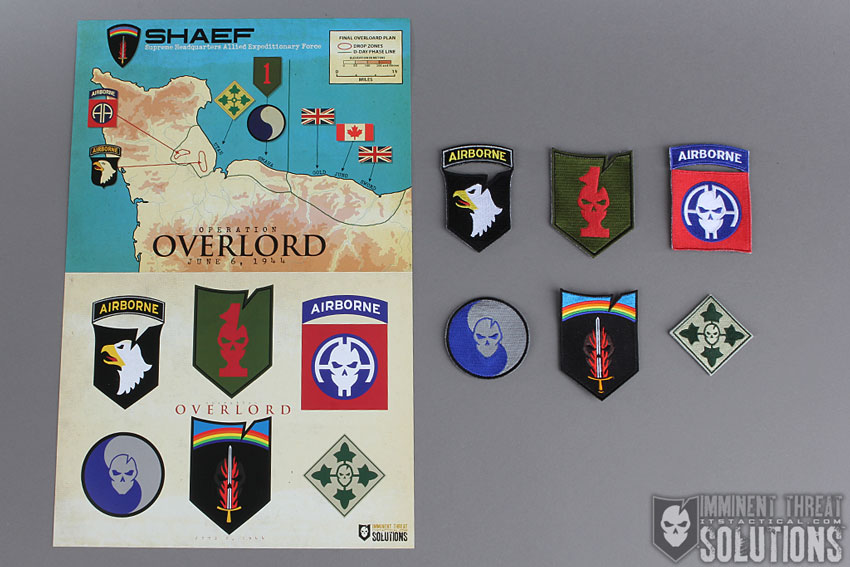 ITS WWII D-Day Morale Patch Collection
