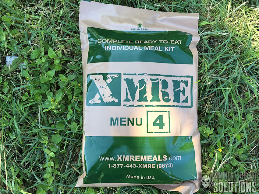 MRE Meal 4 Asian Beef Strips