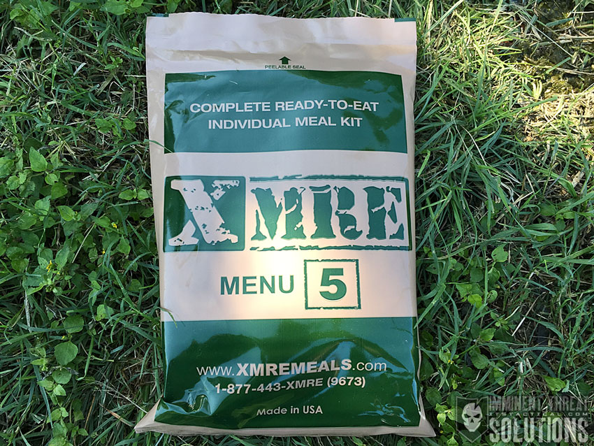 MRE Meal 5 Chicken Egg Noodle