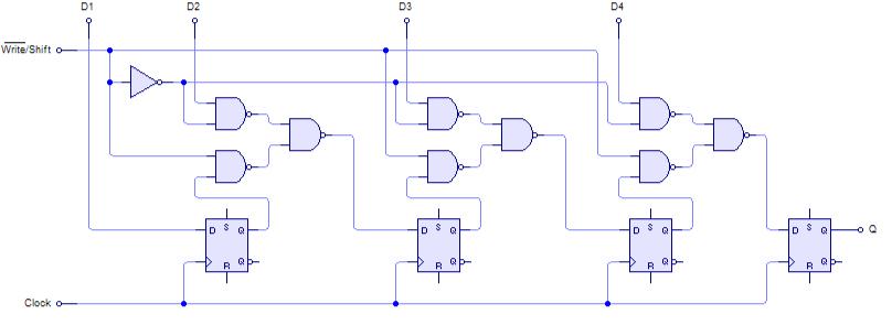 4-Bit_PISO_Shift_Register