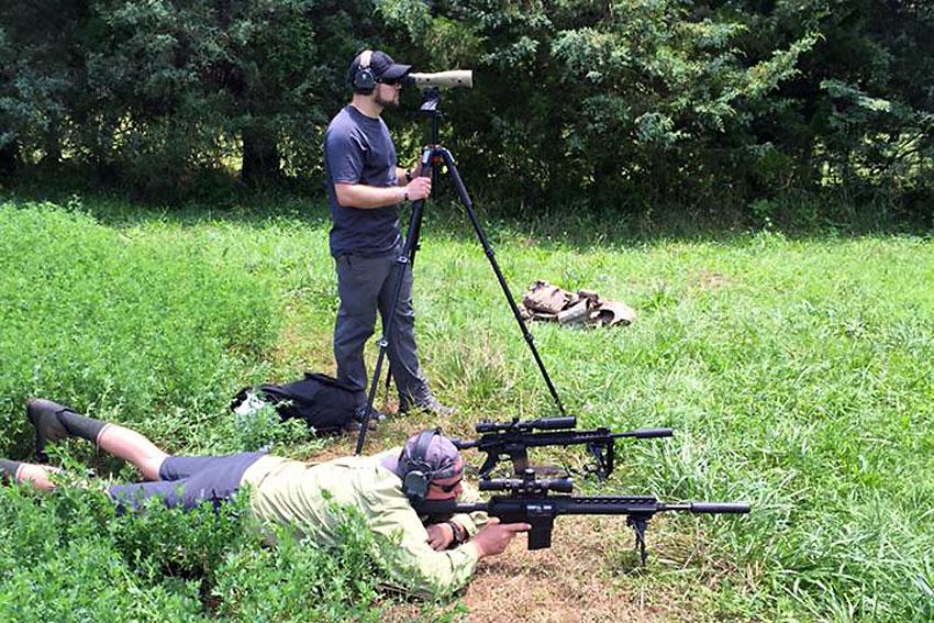 Precision Rifle Spotting