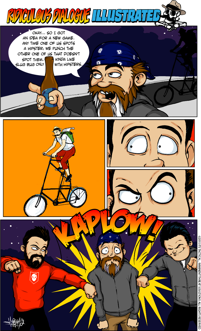 Ridiculous Dialogue Illustrated No. 6
