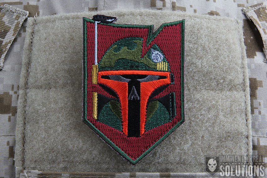 ITS Bounty Hunter Morale Patch Collection