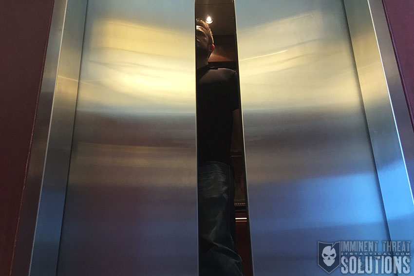 Stuck in elevator with 10 students 4 2