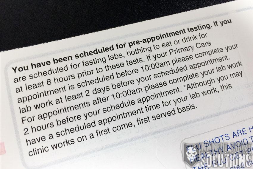 VA Blood Test