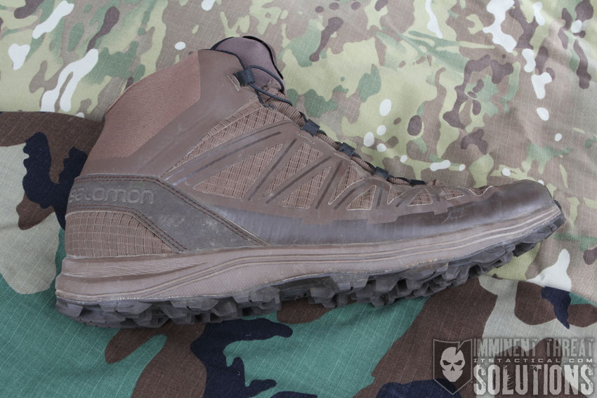 Salomon Forces Speed Assault Black With Mountain Trail