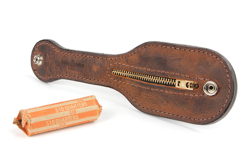 Making Change: A Less-Lethal Coin Purse from Mean Gene Leather - ITS