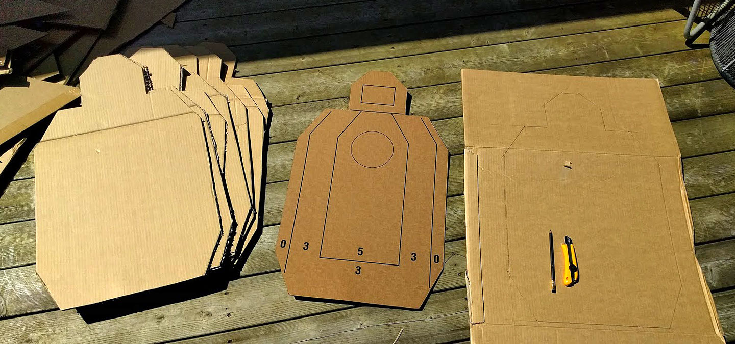 Turn Your Trash Into Treasure with These DIY Cardboard Range Targets - ITS Tactical