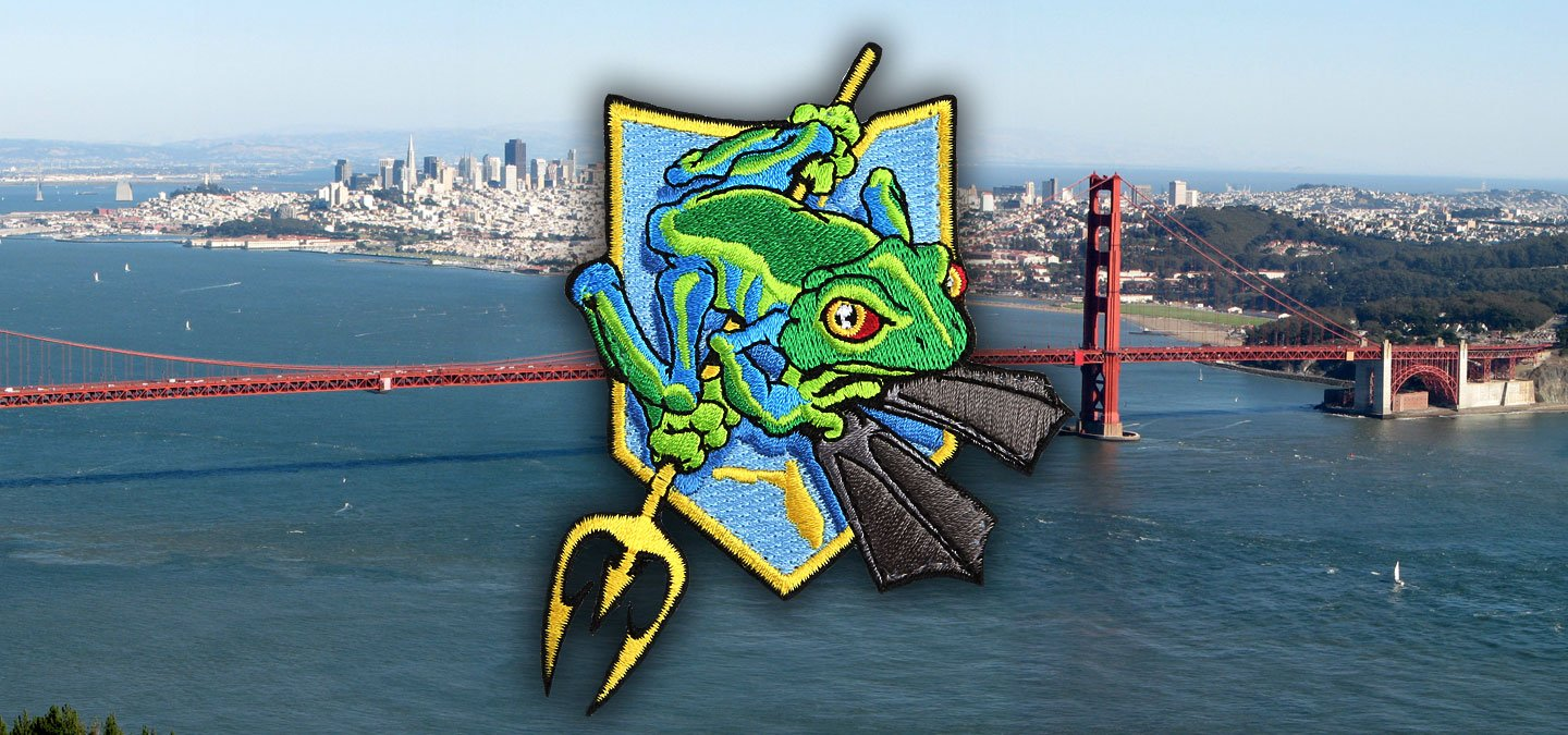 Golden Gate Frogman Swim Honoring Extortion 17 and the Navy