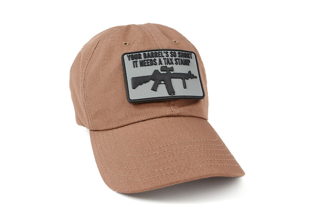 The ITS Short Barreled PVC Morale Patch highlights that you may need to  apply for a tax stamp if your barrel ends up being too short. 653c0f67d9b