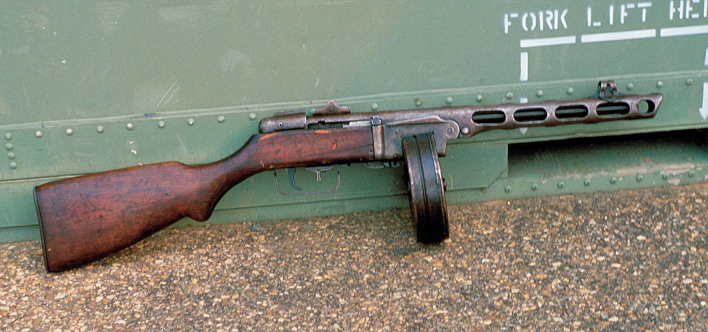 Bad Manners The Development Of Soviet Ppsh Burp Gun Its Mosin Nagant Schematic Tactical