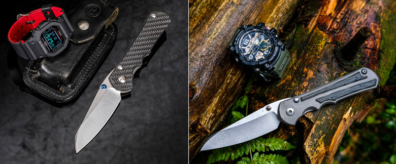 Carbon Fiber or Micarta? The Battle Between Two Chris Reeve Inkosis