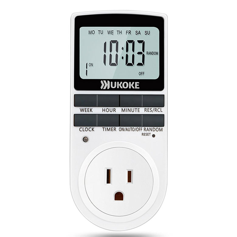 How to use a modern light timer to increase home security ive purchased both the okoke digital programmable timer outlet for about 12 through amazon and the enerlites het01 in wall digital programmable timer aloadofball Choice Image