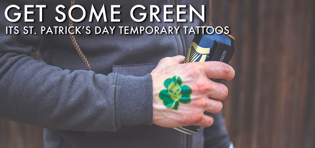St. Patrick's Day Temporary Tattoo