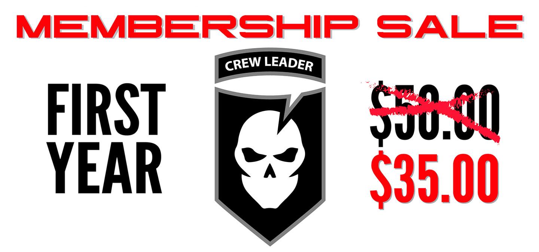 Crew Leader Sale Featured