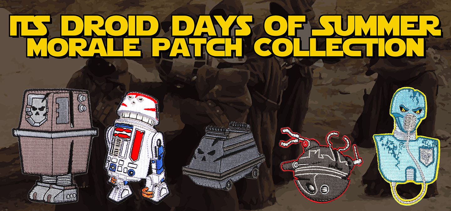 Droid Days of Summer Morale Patch Collection Featured