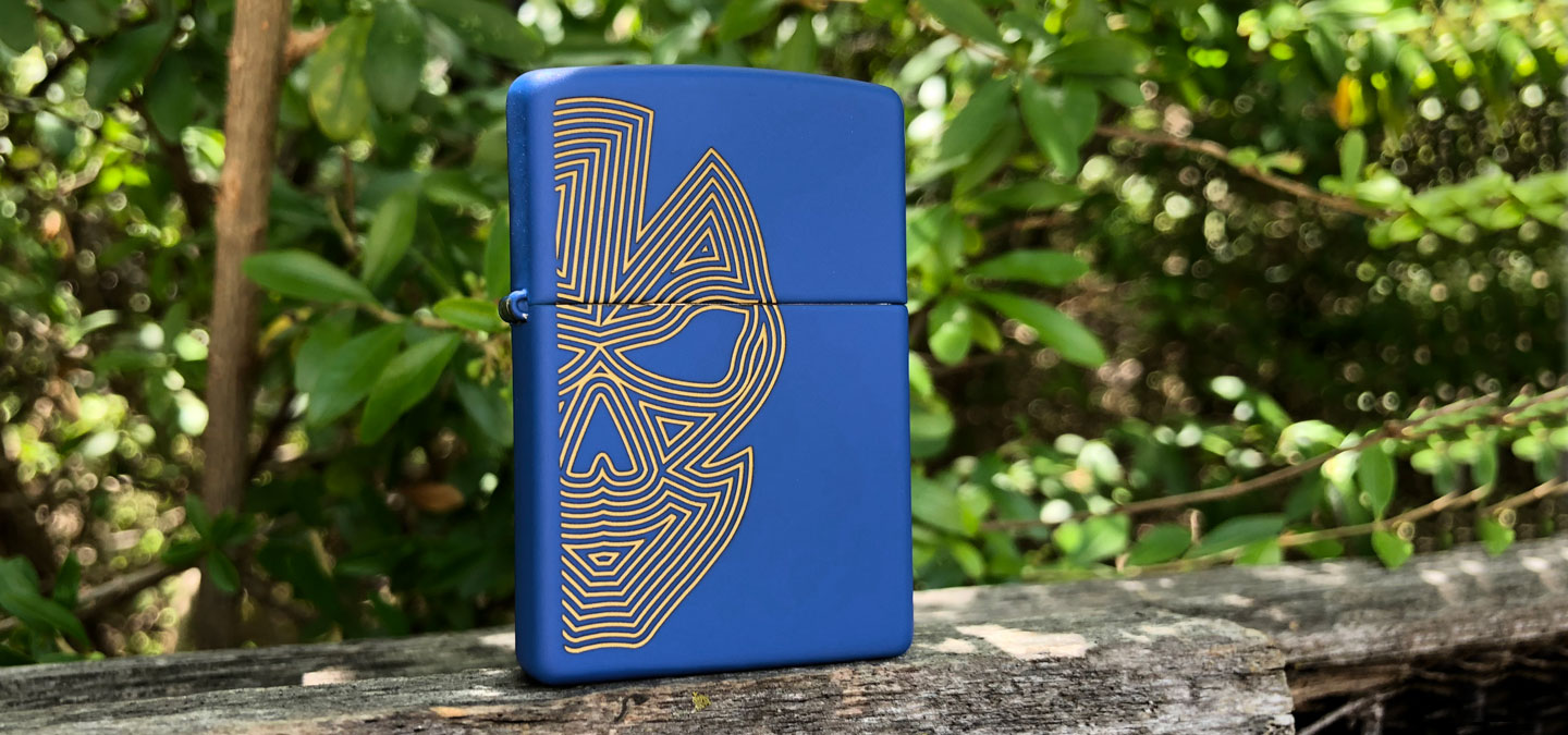 Zippo Royal Blue Featured