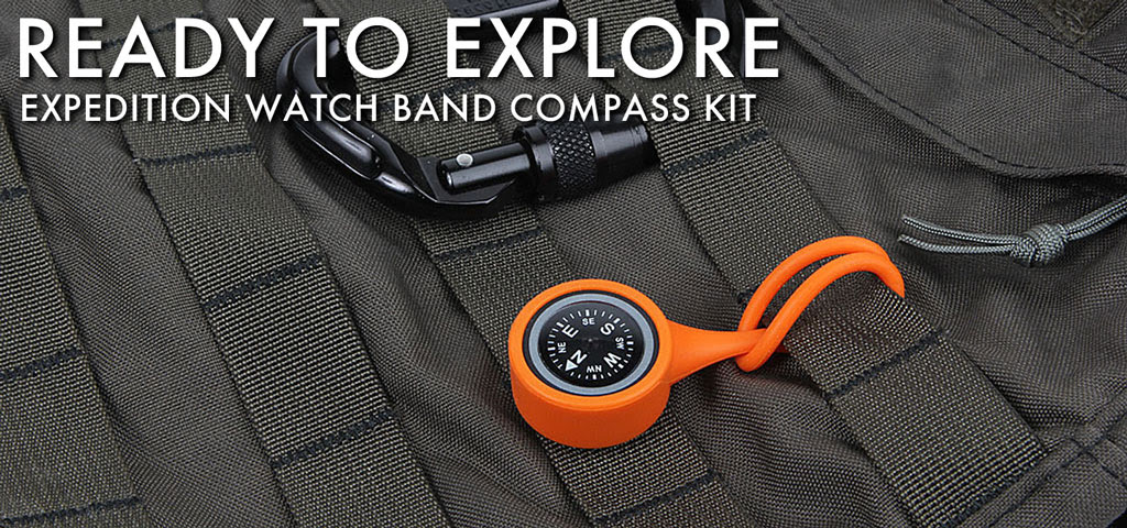 Watch Band Compass