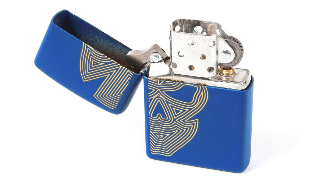 Zippo® Royal Blue 02