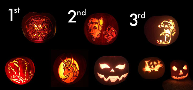Pumpkin Carving Contest Previous Winners