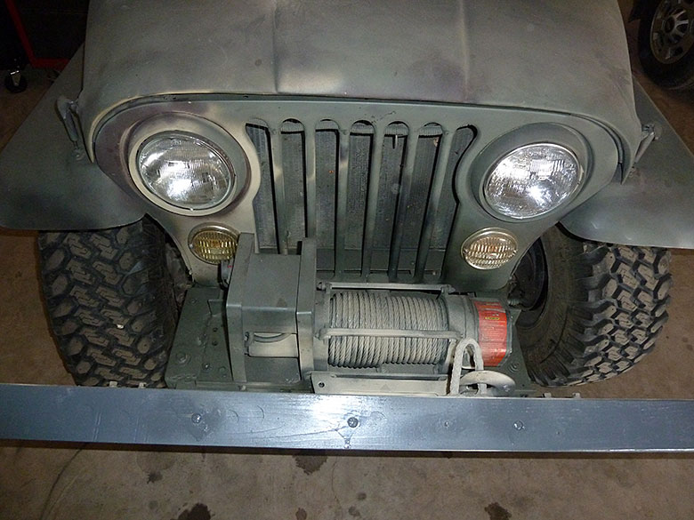 How to Build a Robust Bumper for CJ-Series Jeeps - ITS Tactical