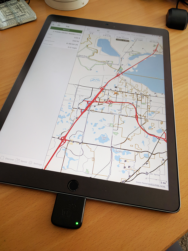 Bad Elf GPS iPad