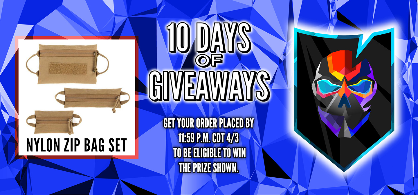 Day 3 10 Days of Giveaways