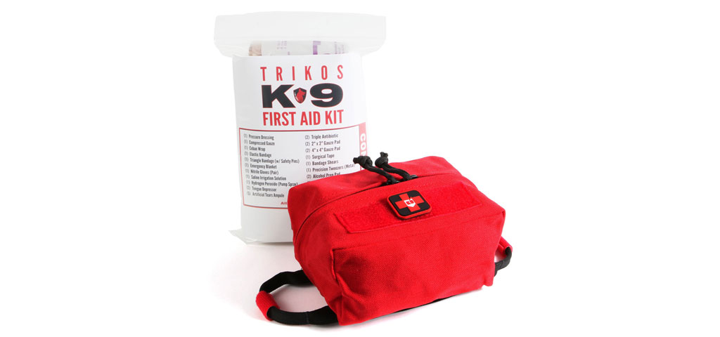 Trikos K-9 First Aid Kit