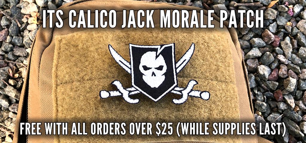 Calico Jack Patch Promo