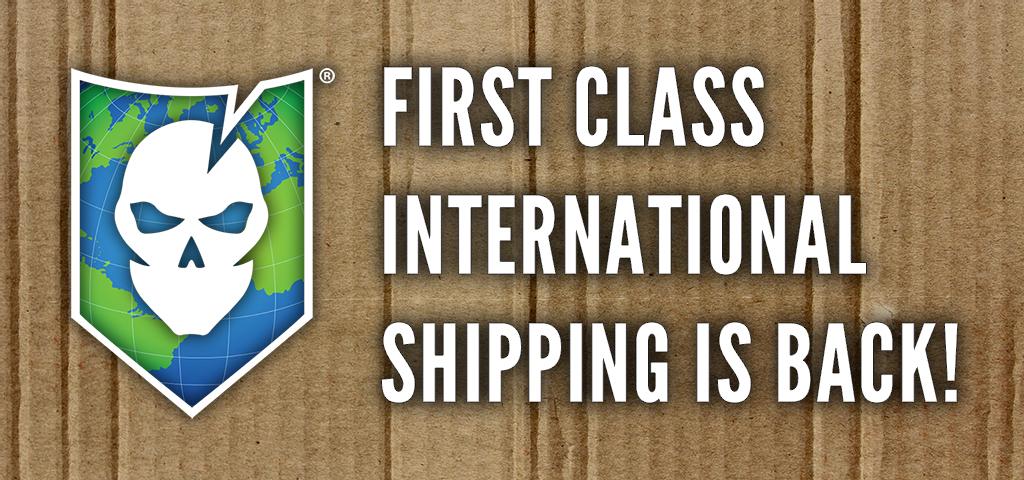 First Class International Shipping