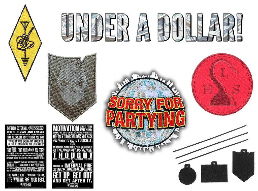 Dollar Days Under a Dollar