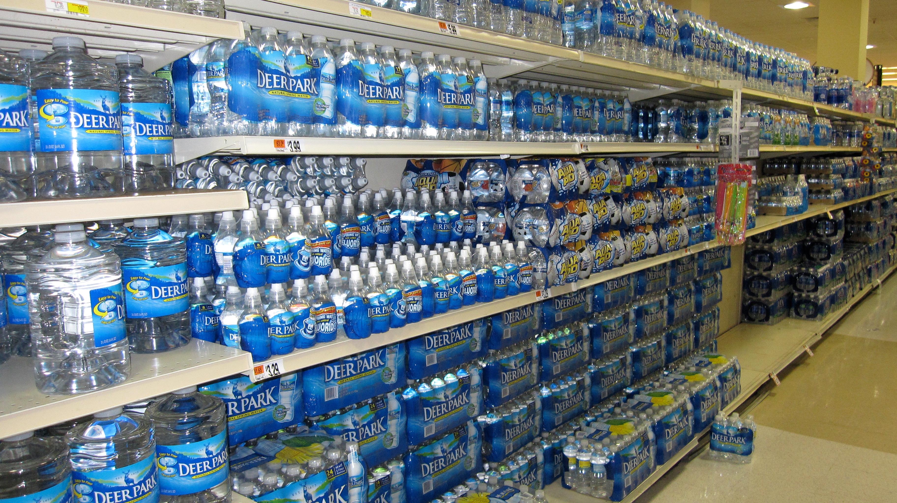 Panic Water Storage