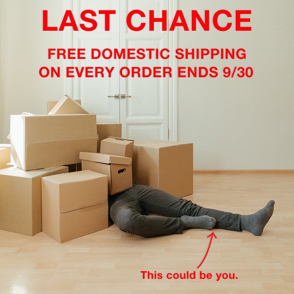 Last Chance Free Shipping